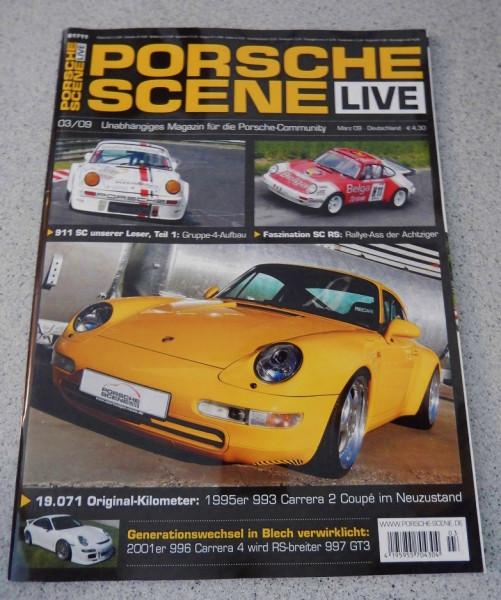 Porsche-Scene Live-Zeitschrift