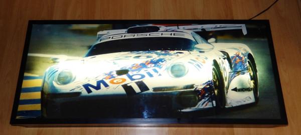 Leuchtbild mit Porsche GT1, aus LeMans 1996
