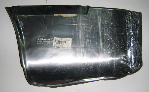 Alu-Hitzeschutz für Stoßstange hinten, passend für 993
