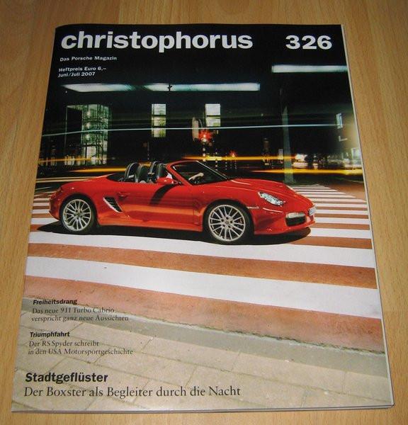 Christophorus, das Porsche-Magazin Nr. 326