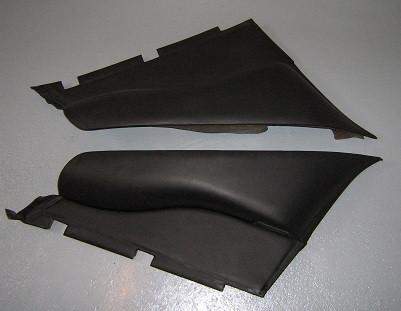 Leder-Seitenverkleidungen hinten, passend für Porsche 964 Coupe