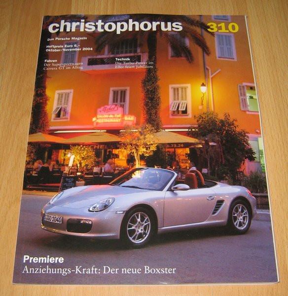 Christophorus, das Porsche-Magazin Nr. 310