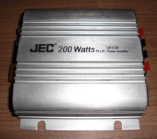 "Power-Amplifier ""JEC"", 200 Watt, passend für Porsche 924/944"