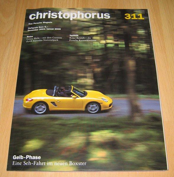Christophorus, das Porsche-Magazin Nr. 311