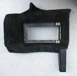 Teppich-Sicherungskastenabdeckung schwarz, für Boxster 986