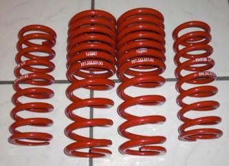 Sportfedernsatz rot, passend für Porsche 997, original