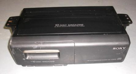 """CD-Wechler 10fach """"Sony CDX-U330RF"""", passend für Porsche 964"""