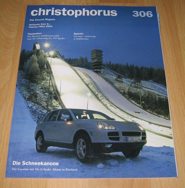 Christophorus, das Porsche-Magazin Nr. 306