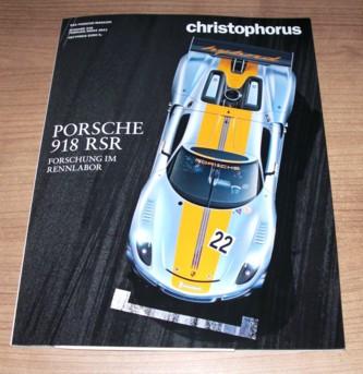 Christophorus, Das Porsche-Magazin Nr. 348