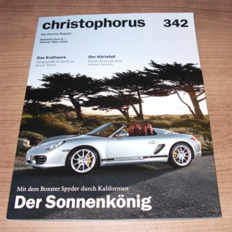 Christophorus, Das Porsche Magazin Nr. 342