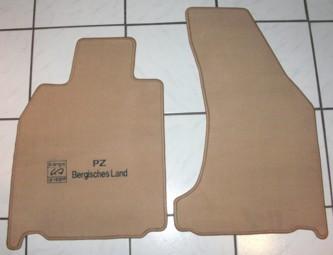 Fußmatten, passend für Porsche Cayman, neu