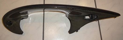 Leder-Kevlar-Instrumentenabdeckung, passend für Porsche 986