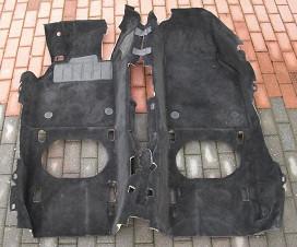 Innenraumteppich schwarz, passend für Porsche Boxster 986
