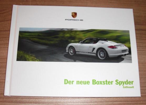 """""""Der neue Boxster Spyder"""""""