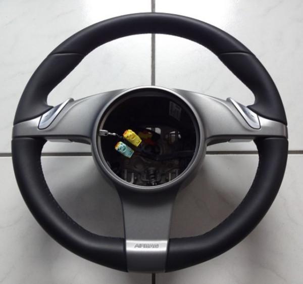 Airbag-Leder-Sportlenkrad mit PDK, passend für Porsche 997, neu