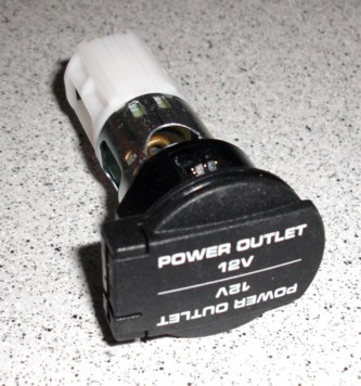 Fassung für Stromzufuhr, passend für Porsche 997