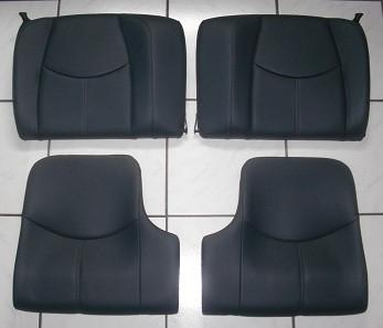 Leder-Rücksitzeinheit, passend für Porsche 997-Coupe