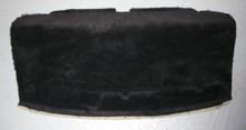 Coupe-Teppich-Hutablage hinten, schwarz, passend für Porsche 997