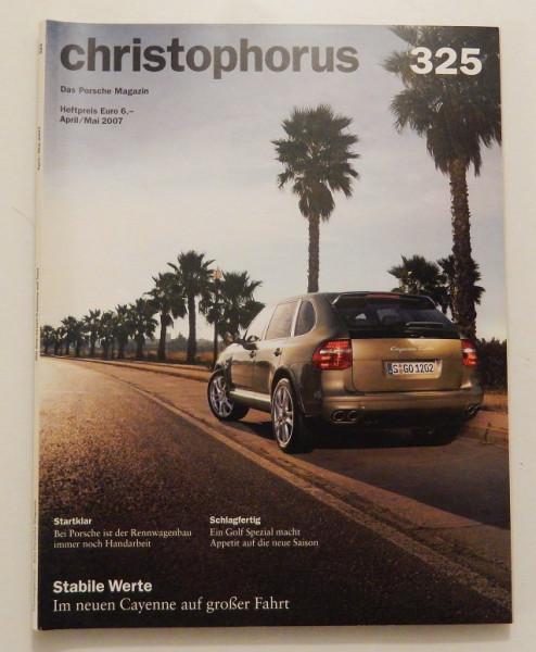 Christophorus, das Porsche-Magazin Nr. 325