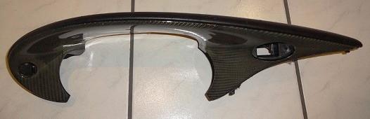 Leder-Kevlar-Instrumentenabdeckung, passend für Porsche 996