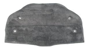 Teppichverkleidung Motord. schwarz, passend für Boxster 986