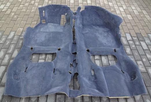 Innenraumteppich seeblau, passend für Porsche 997 Coupe