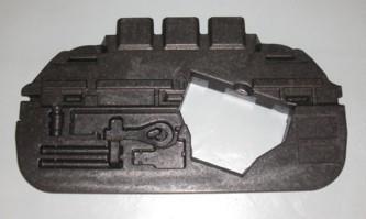 Einsatz im Kofferraum, passend für Porsche 997, neu
