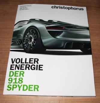 Christophorus, Das Porsche Magazin Nr. 343