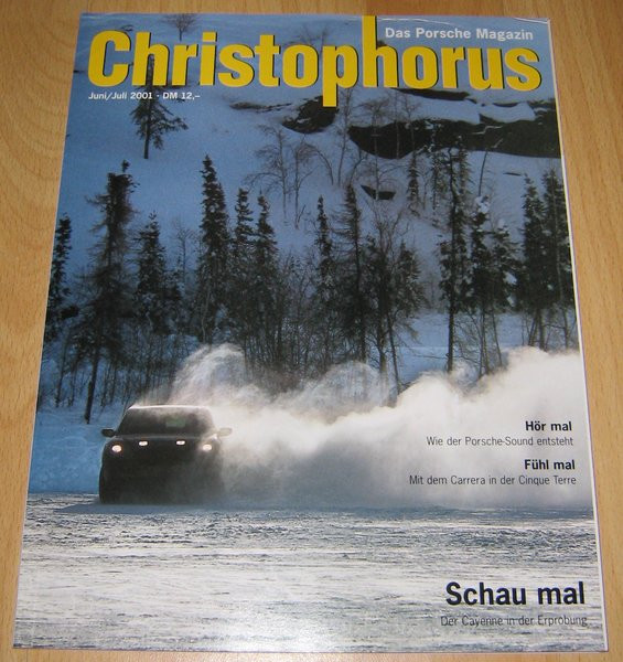 Christophorus, das Porsche-Magazin Nr. 290