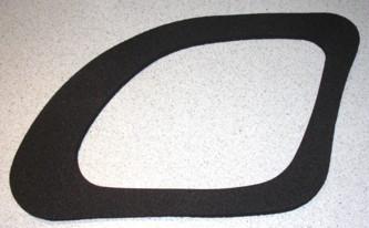 Dichtung, passend für Porsche Boxster 986, neu