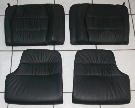 Raffleder-Rücksitzlehnen mit Kissen, passend für Porsche 996