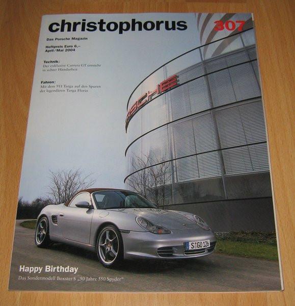 Christophorus, das Porsche-Magazin Nr. 307
