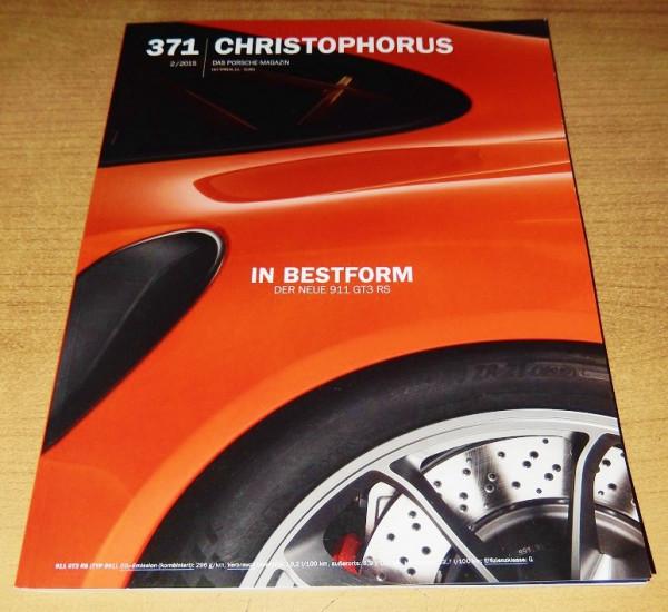 Christophorus, das Porsche-Magazin Nr. 371