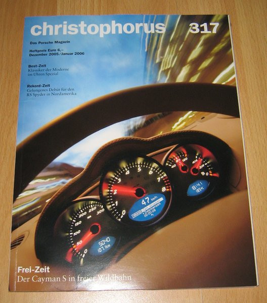 Christophorus, das Porsche-Magazin Nr. 317