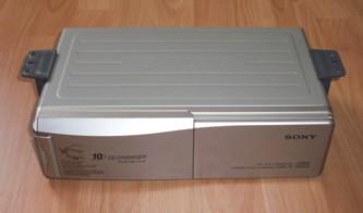 """CD-Wechsler """"Sony CDX-71"""", 10fach, passend für Porsche 924/944"""