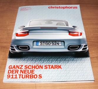 Christophorus, Das Porsche-Magazin Nr. 345