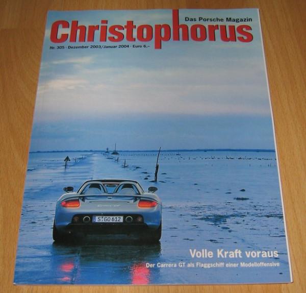Christophorus, das Porsche-Magazin Nr. 305