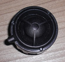Hochtöner im Armaturenbrett, passend für Porsche 997
