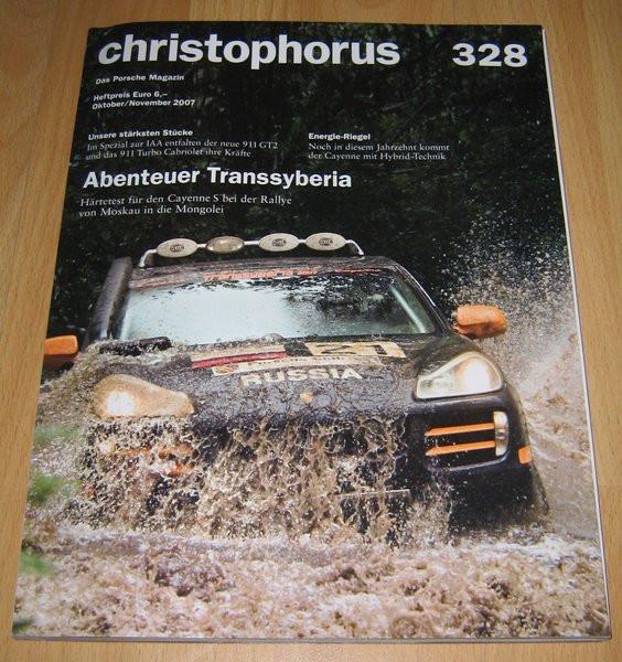 Christophorus, das Porsche-Magazin Nr. 328