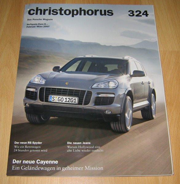 Christophorus, das Porsche-Magazin Nr. 324