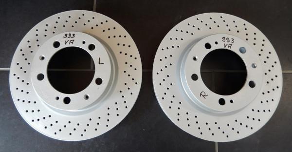 VA-Bremsscheiben vorn, passend für Porsche 993 C2 / C4
