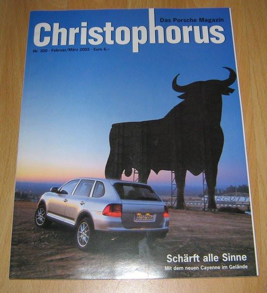 Christophorus, das Porsche-Magazin Nr. 300