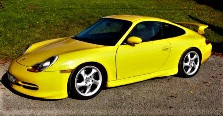 Porsche 996 C2 mit GT3-Aerokit, 300 PS