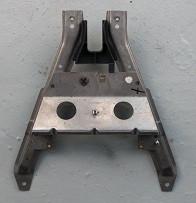 Verstärkung für Armaturen-Tragrahmen mittig, passend für 996
