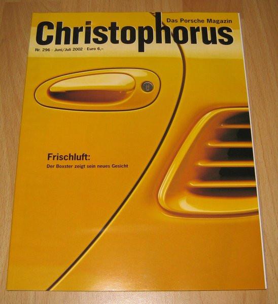 Christophorus, das Porsche-Magazin Nr. 296
