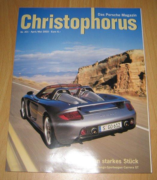 Christophorus, das Porsche-Magazin Nr. 301