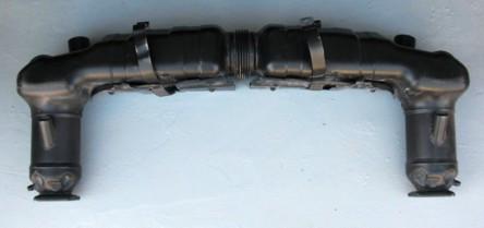 Endschalldämpfer/Kat, passend für Porsche 997 Turbo