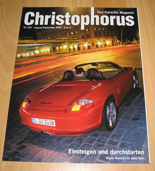 Christophorus, das Porsche-Magazin Nr. 297