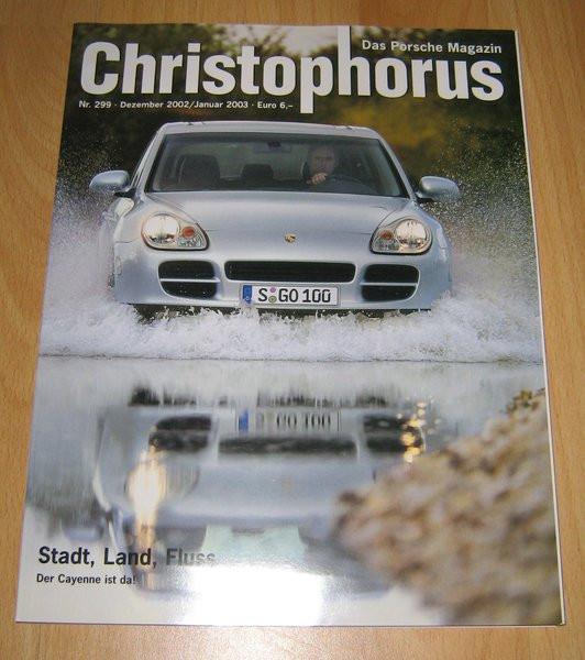 Christophorus, das Porsche-Magazin Nr. 299