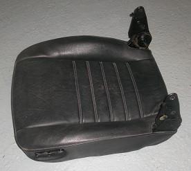 Leder-Sitzunterteil schwarz, passend für Porsche 924/944